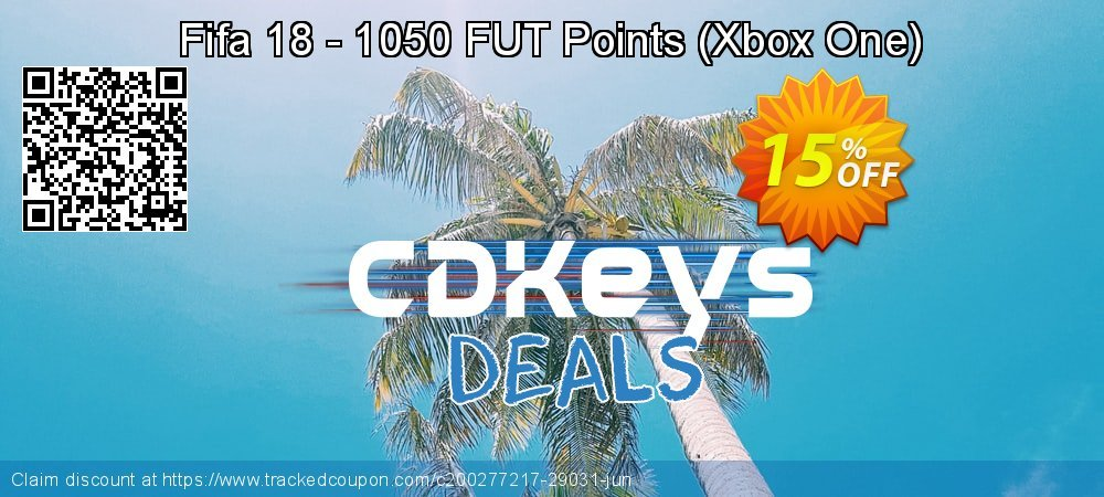 Fifa 18 - 1050 FUT Points - Xbox One  coupon on Xmas Day promotions