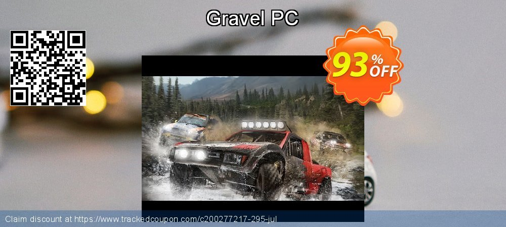 Gravel PC coupon on World UFO Day offering discount