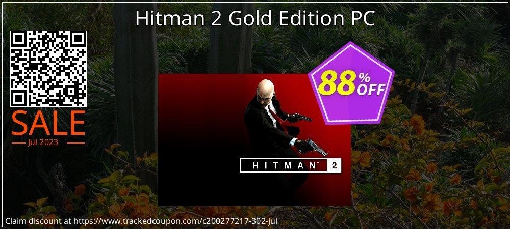 71 Off Hitman 2 Gold Edition Pc Coupon Code Aug 2020 Trackedcoupon