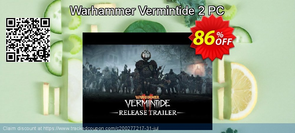 Warhammer Vermintide 2 PC coupon on Mothers Day promotions