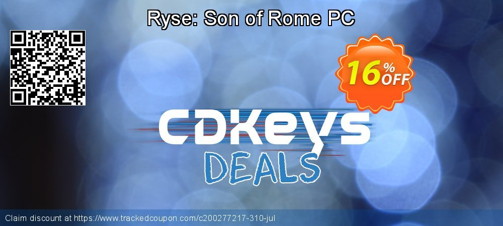 Get 10% OFF Ryse: Son of Rome PC offering sales