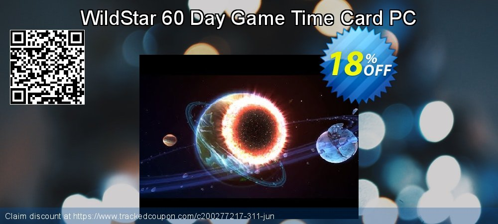 WildStar 60 Day Game Time Card PC coupon on World Population Day offer