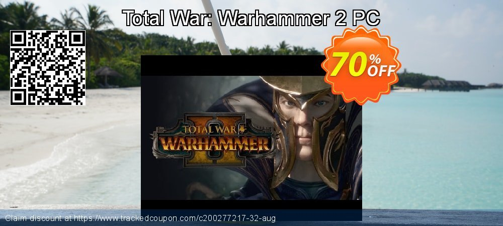 Total War: Warhammer 2 PC coupon on Mom Day sales