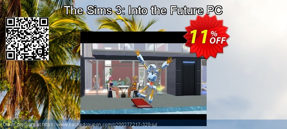The Sims 3: Into the Future PC coupon on National French Fry Day offer