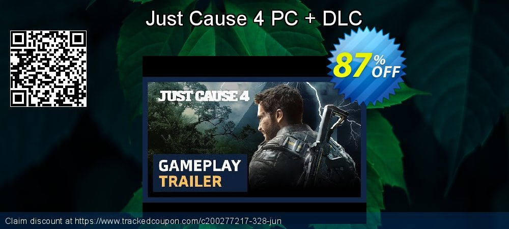 Just Cause 4 PC + DLC coupon on Thanksgiving offering sales