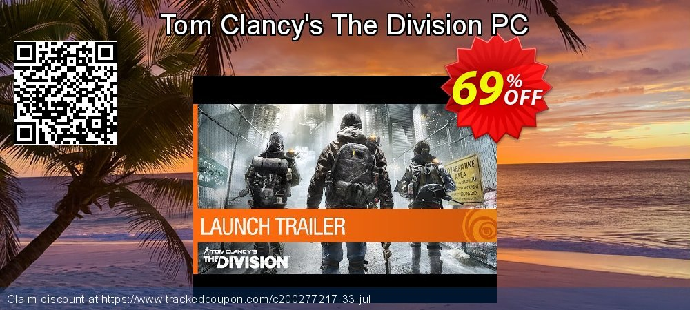 Tom Clancy's The Division PC coupon on Mothers Day deals