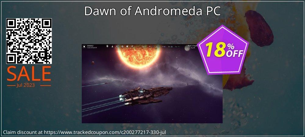 Dawn of Andromeda PC coupon on National Bikini Day discount