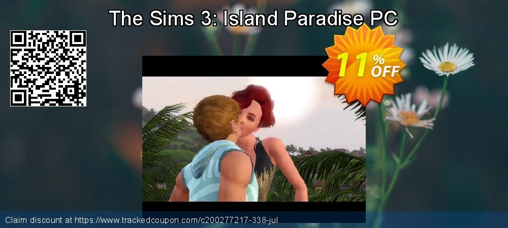 The Sims 3: Island Paradise PC coupon on Nude Day offer