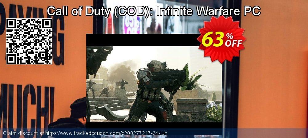 Call of Duty - COD : Infinite Warfare PC coupon on Mom Day offer