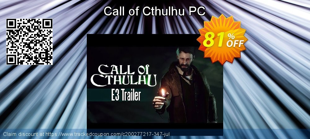 Call of Cthulhu PC coupon on World UFO Day offer