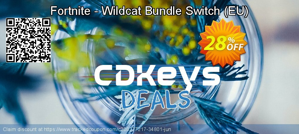 Fortnite - Wildcat Bundle Switch - EU  coupon on World Bicycle Day discount
