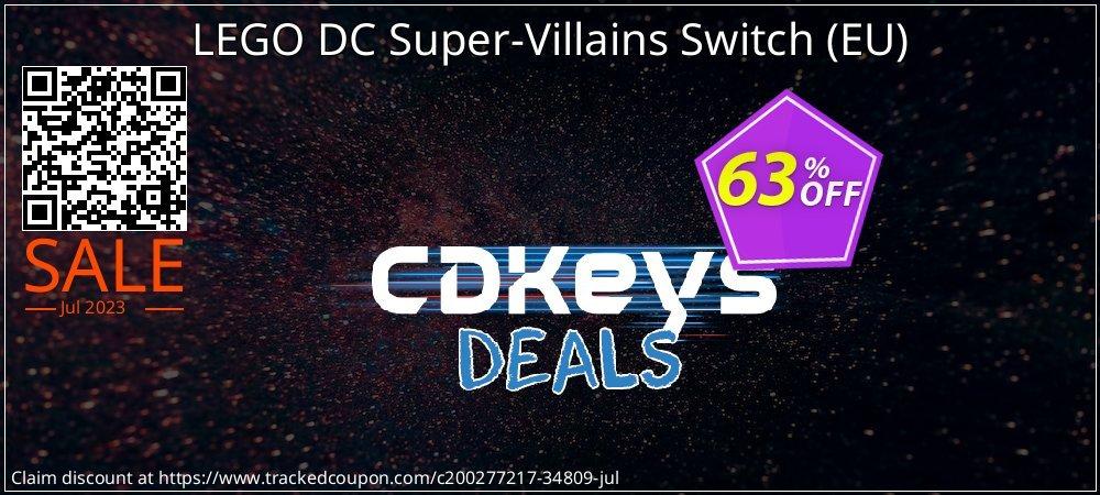 Get 62% OFF LEGO DC Super-Villains Switch (EU) promotions