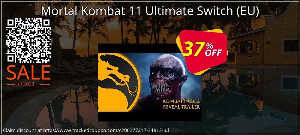 Mortal Kombat 11 Ultimate Switch - EU  coupon on Egg Day super sale