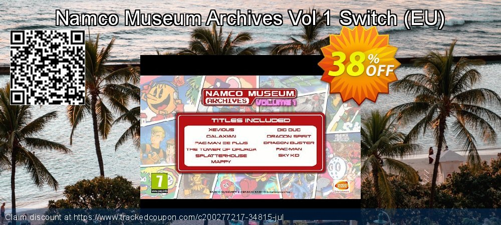 Namco Museum Archives Vol 1 Switch - EU  coupon on Social Media Day promotions