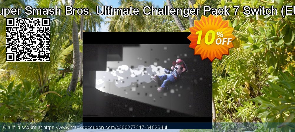 Super Smash Bros. Ultimate Challenger Pack 7 Switch - EU  coupon on Egg Day deals