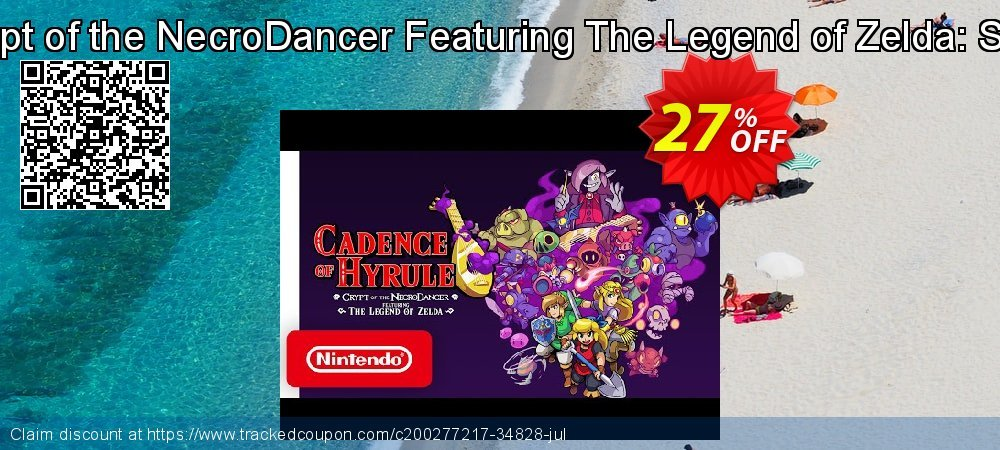 Cadence of Hyrule – Crypt of the NecroDancer Featuring The Legend of Zelda: Season Pass Switch - EU  coupon on Social Media Day discount
