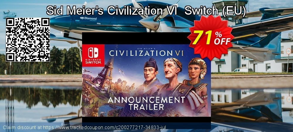 Sid Meier's Civilization VI  Switch - EU  coupon on Camera Day promotions