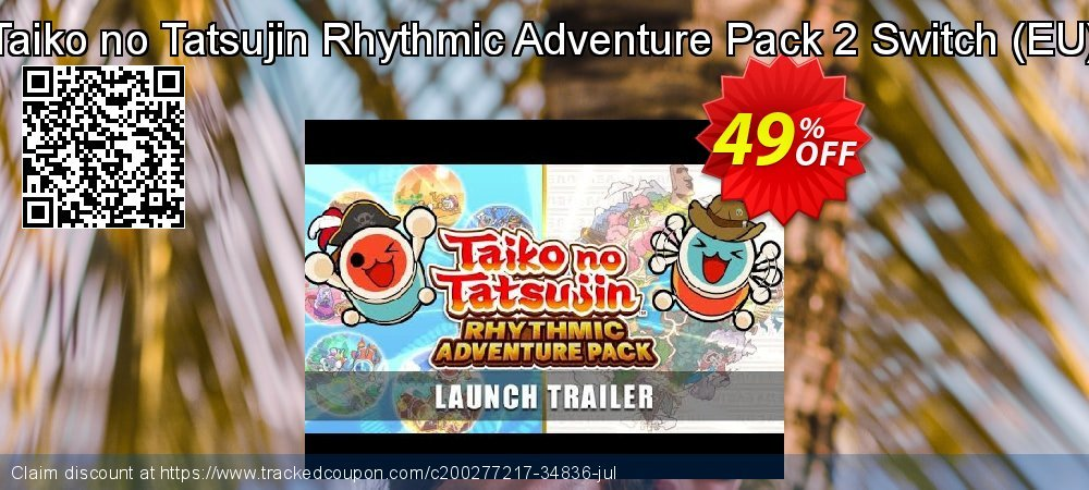 Taiko no Tatsujin Rhythmic Adventure Pack 2 Switch - EU  coupon on National Cheese Day offer