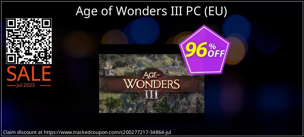 Get 94% OFF Age of Wonders III PC (EU) offering sales