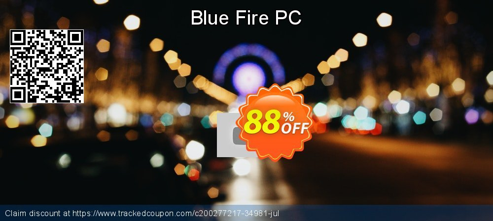 Blue Fire PC coupon on World Milk Day discount