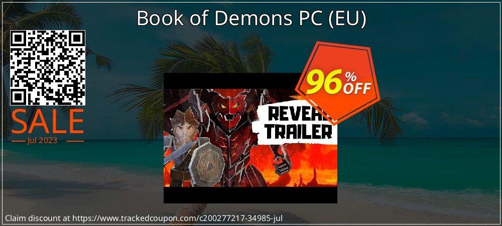 Get 95% OFF Book of Demons PC (EU) discounts