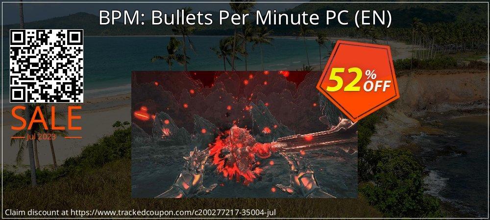 Get 51% OFF BPM: Bullets Per Minute PC (EN) sales