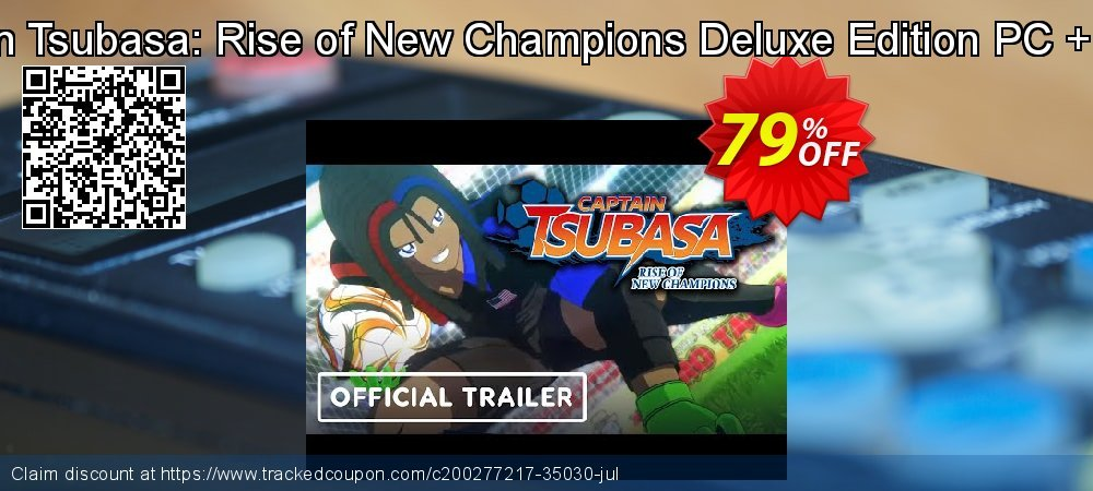 Captain Tsubasa: Rise of New Champions Deluxe Edition PC + Bonus coupon on Mom Day super sale