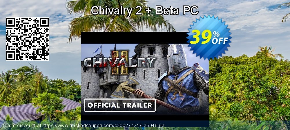 Chivalry 2 + Beta PC coupon on World Milk Day offering sales