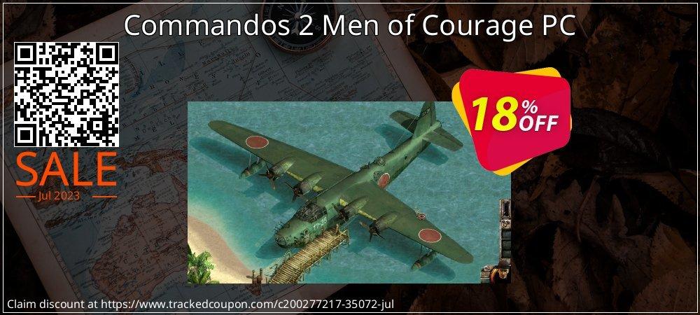 Get 10% OFF Commandos 2 Men of Courage PC offering sales