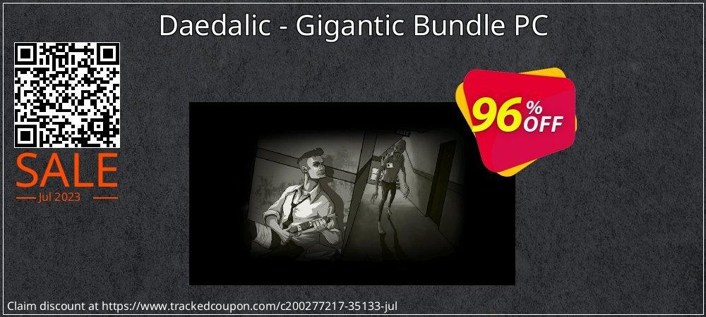 Get 95% OFF Daedalic - Gigantic Bundle PC sales