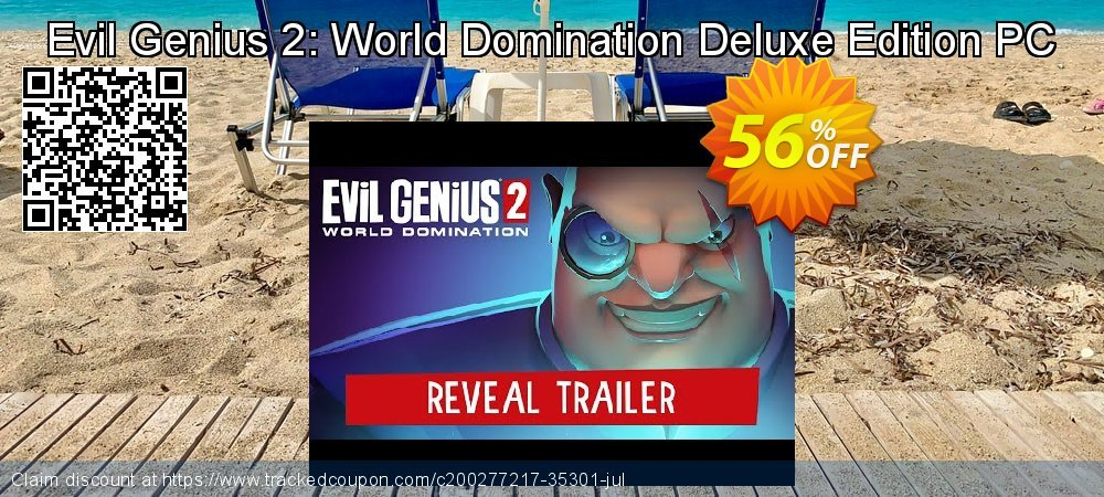 Evil Genius 2: World Domination Deluxe Edition PC coupon on Camera Day promotions