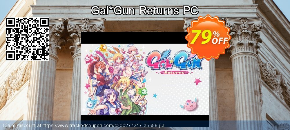 Gal*Gun Returns PC coupon on National Kissing Day super sale