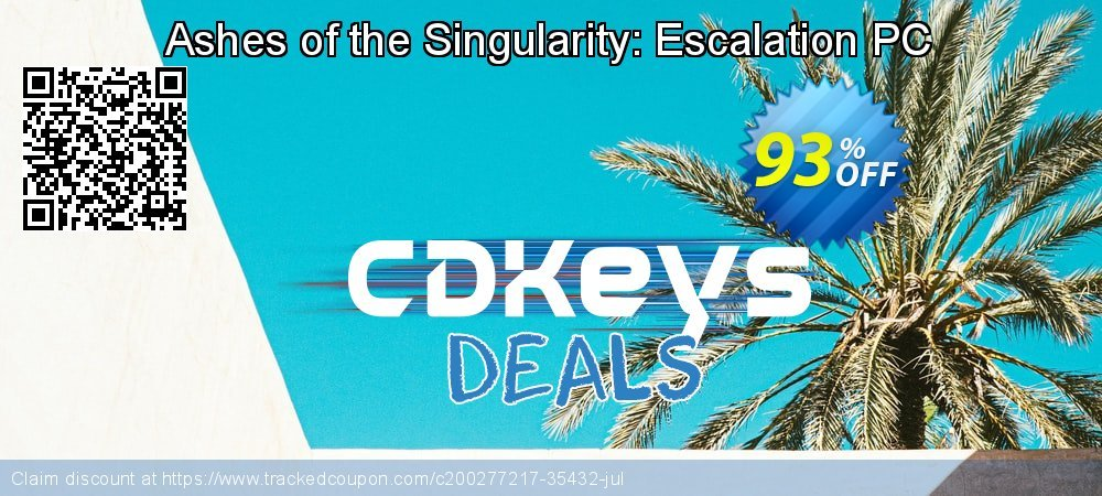 Get 95% OFF Ashes of the Singularity: Escalation PC offering sales