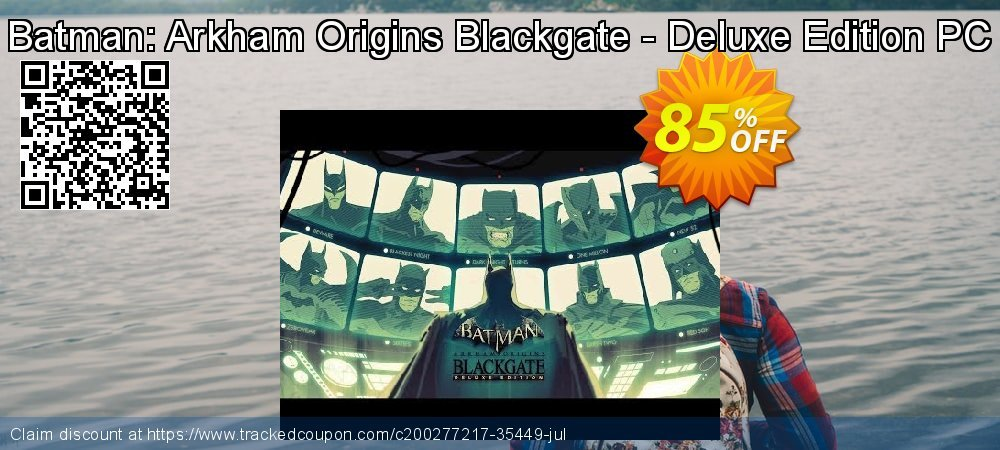 Batman: Arkham Origins Blackgate - Deluxe Edition PC coupon on Mothers Day offer