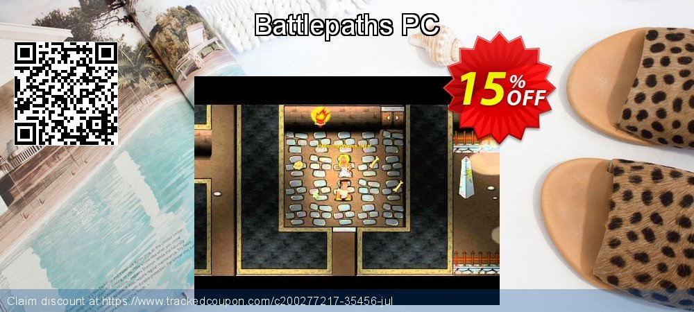 Battlepaths PC coupon on Mom Day sales