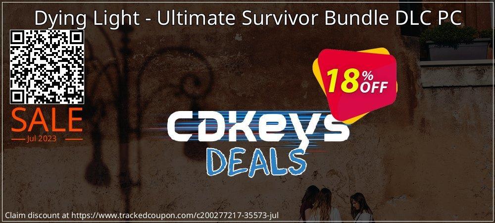 Dying Light - Ultimate Survivor Bundle DLC PC coupon on Mothers Day sales