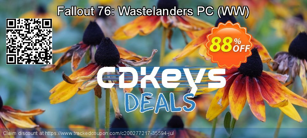 Fallout 76: Wastelanders PC - WW  coupon on Mom Day discount