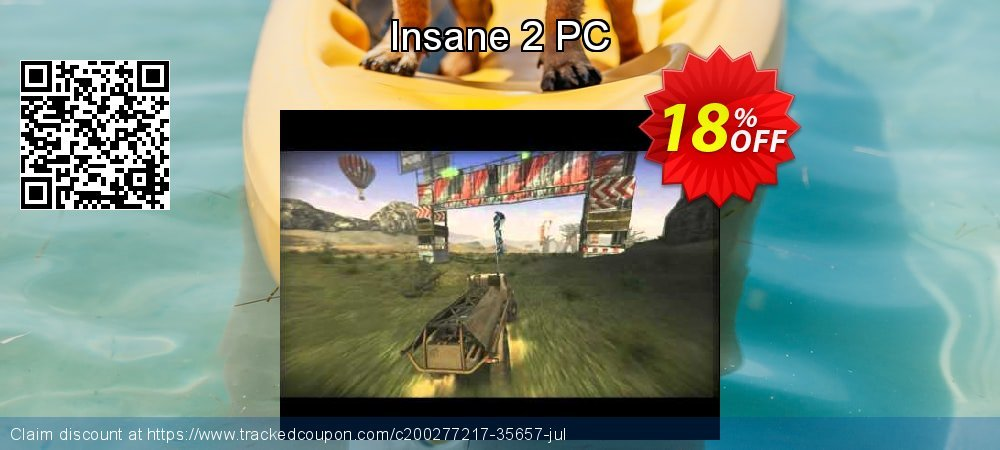 Insane 2 PC coupon on Talk Like a Pirate Day discounts