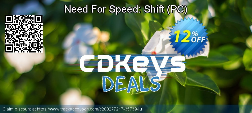 Get 10% OFF Need For Speed: Shift (PC) offering sales