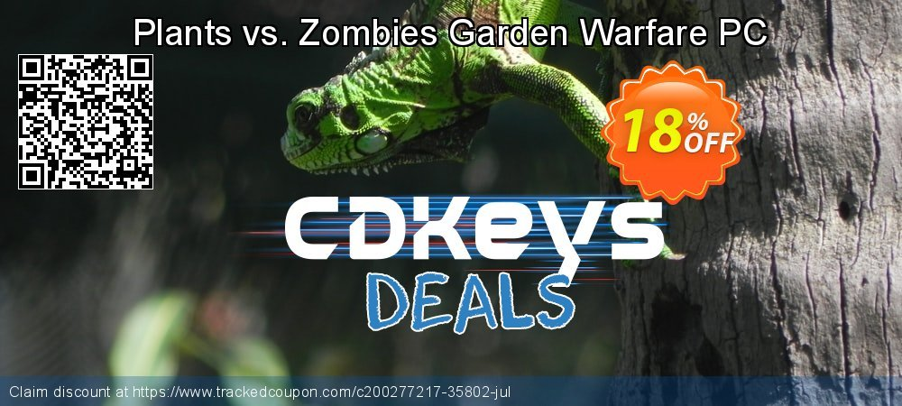 Plants vs. Zombies Garden Warfare PC coupon on Mom Day offering discount