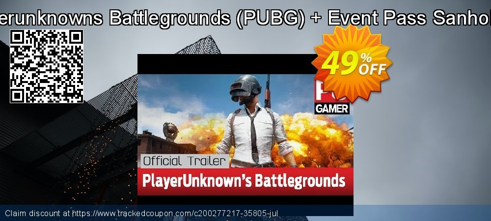 Playerunknowns Battlegrounds - PUBG + Event Pass Sanhok PC coupon on Mothers Day discounts