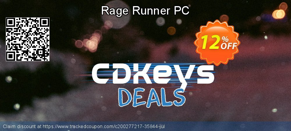 Rage Runner PC coupon on Mom Day deals