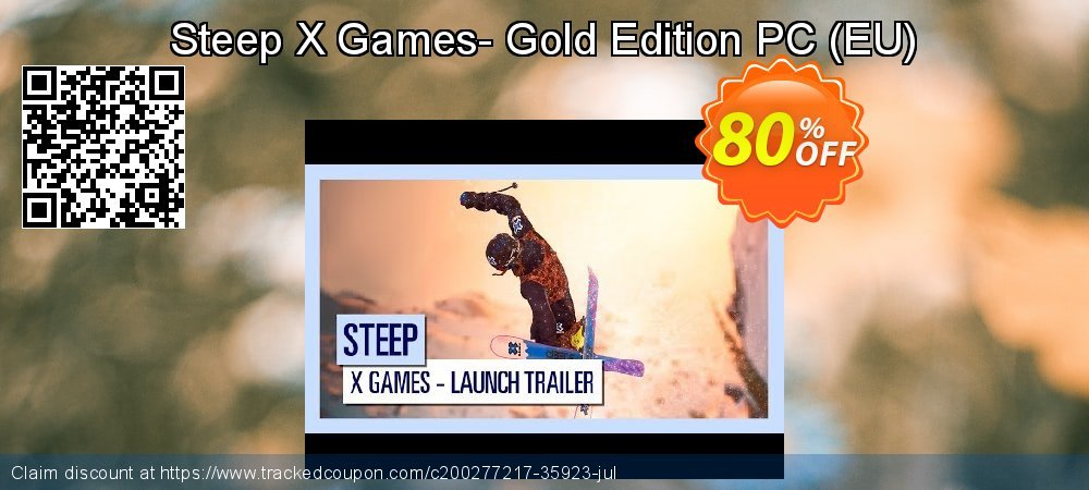 Get 80% OFF Steep X Games- Gold Edition PC (EU) promo