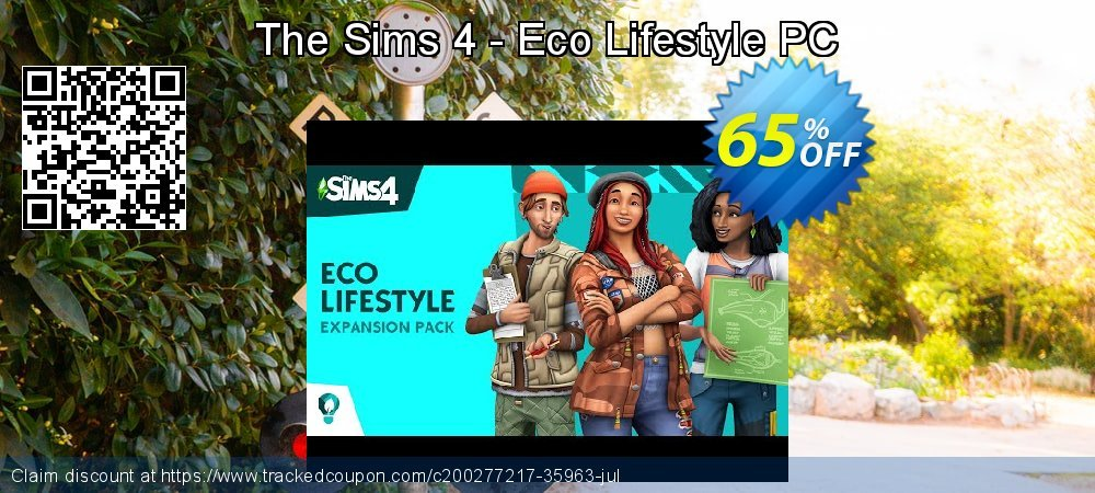 The Sims 4 - Eco Lifestyle PC coupon on Mothers Day discount