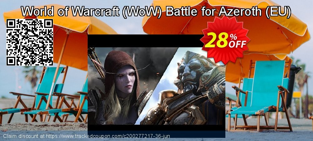Get 40% OFF World of Warcraft (WoW) Battle for Azeroth (EU) offering sales