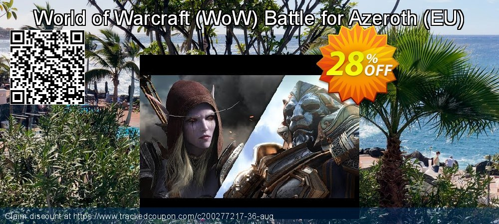Get 28% OFF World of Warcraft (WoW) Battle for Azeroth (EU) offering sales