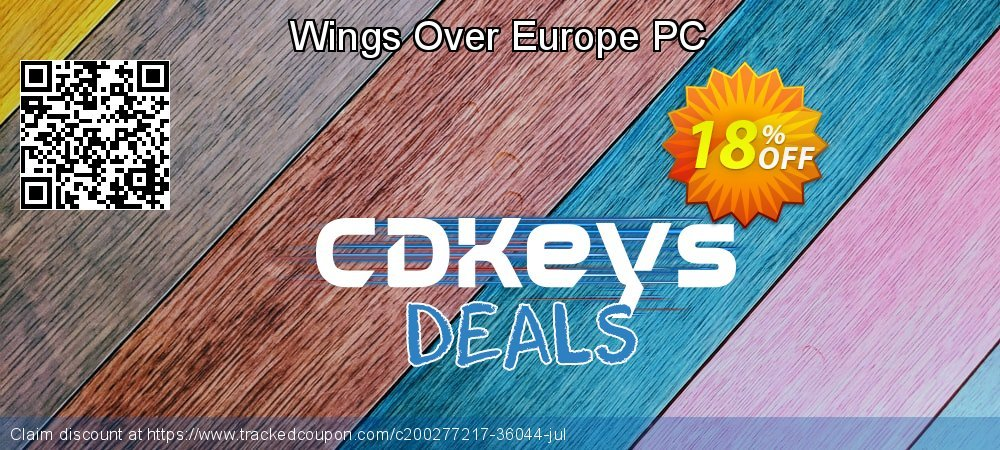 Wings Over Europe PC coupon on Father's Day offering discount