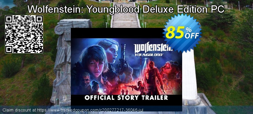 Wolfenstein: Youngblood Deluxe Edition PC coupon on Mom Day offering sales