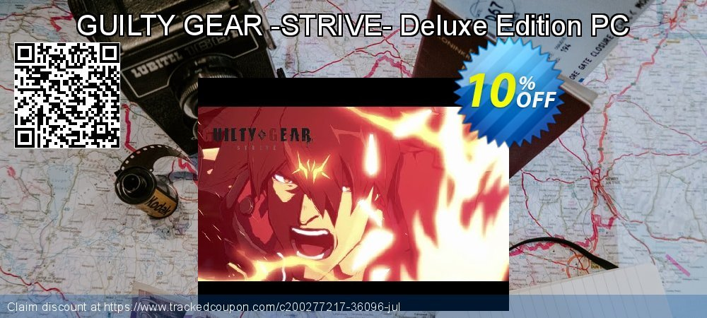 GUILTY GEAR -STRIVE- Deluxe Edition PC coupon on Father's Day offer