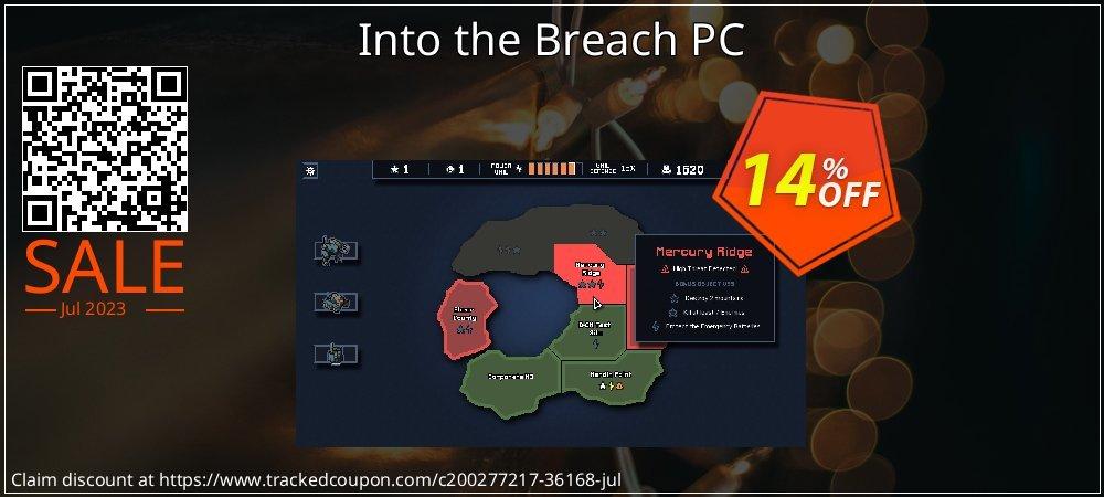Get 78% OFF Into the Breach PC promo
